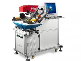 Visual positioning laser marking machine
