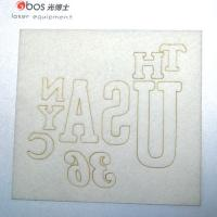 Laser marking on paper, foil and paperboard